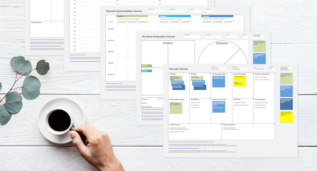 Download the Business Model Canvas in Adobe (PDF) - Neos Chronos